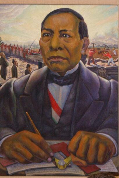 El presidente de la época, Benito Juárez (1858-1872), pidió a sus tres p...