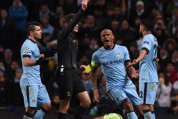 La inyección de ánimo del Manchester City se vería afectara con la expul...