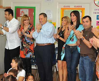 Revivir la ilusión. Para las estrellas de Univision que se dieron cita e...