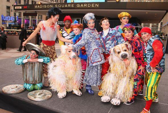 El Circo del Sol vuelve a Nueva York en invierno con Wintuk, el show de...
