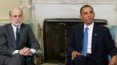 """""""El presidente y Bernanke discutieron las perspectivas para la recuperac..."""