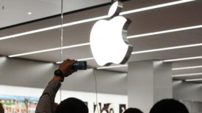 El gigante informático Apple.