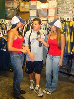 Una entrevista con las dos reinas de la República Deportiva.