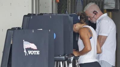 Inicia la votación anticipada en Miami para las elecciones de medio término