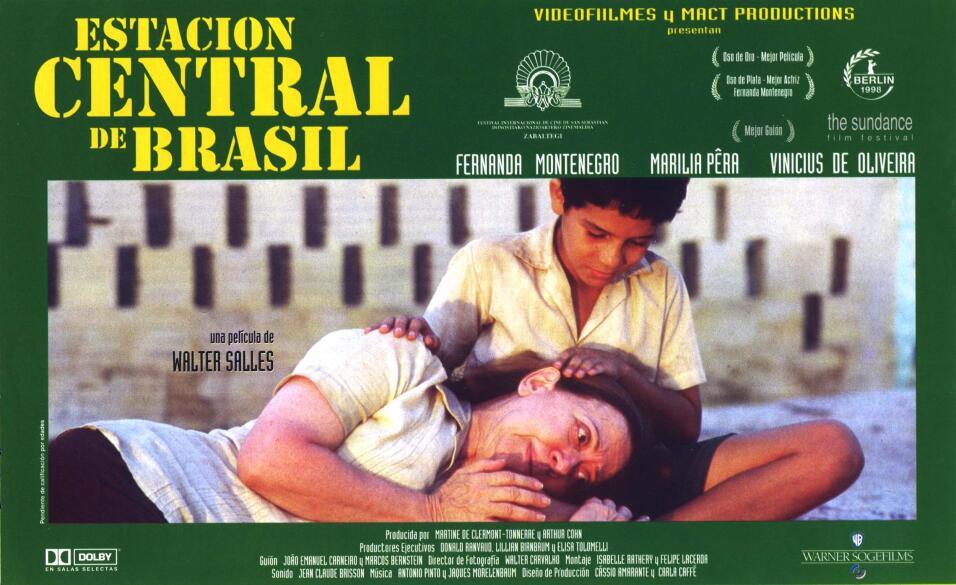 Estación Central do Brasil(1998), BrasilDirector: Walter SallesReparto:...