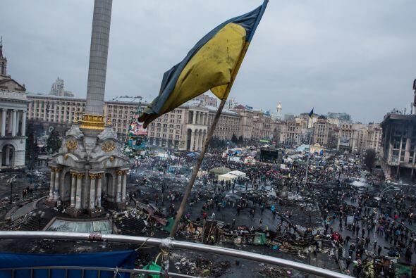 Diversas regiones de Ucrania son escenario de una abierta sublevaci&oacu...