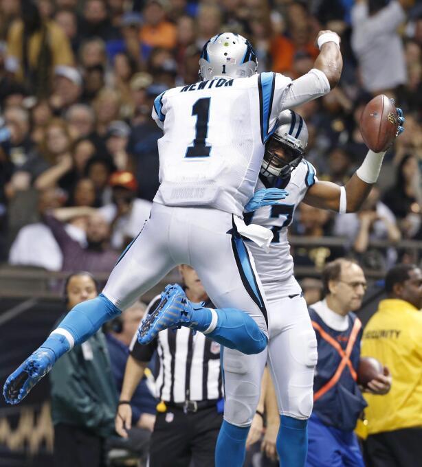 Los Carolina Panthers vencieron 41 - 38 a los New Orleans Saints para ma...