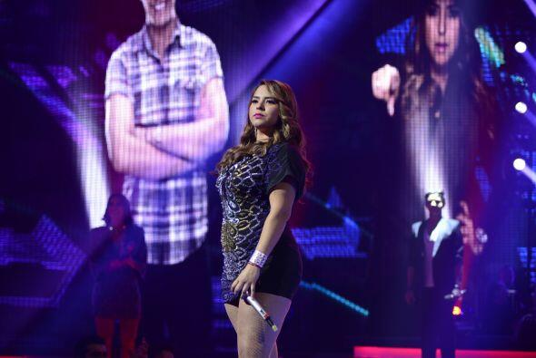 Vivian formó parte del primer grupo de concursantes en cantar.