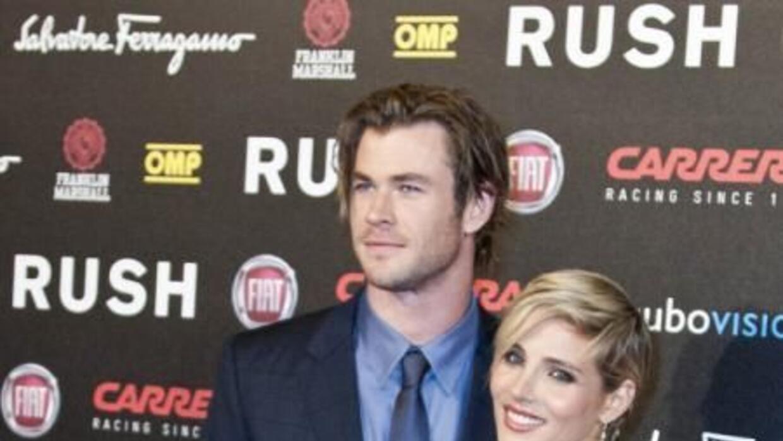 La actriz Elsa Pataky y su marido, Chris Hemsworth, aprovecharon las cál...