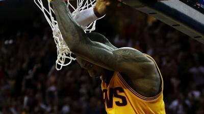 Cavaliers se ponen arriba 2-1 en la Final.