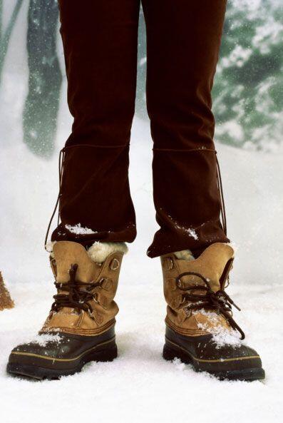 Botas de nieve. Sí, esta temporada también puedes usarlas para hacerle f...