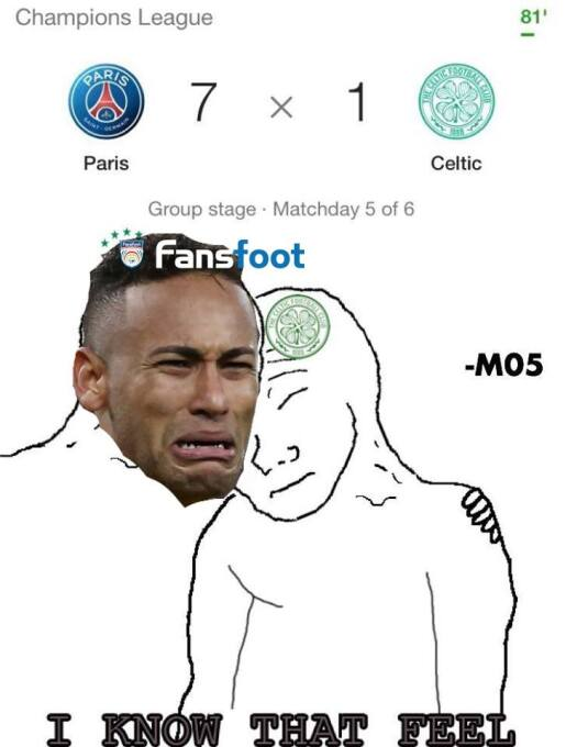 El apabullante PSG lidera los memes más divertidos de la jornada de Cham...