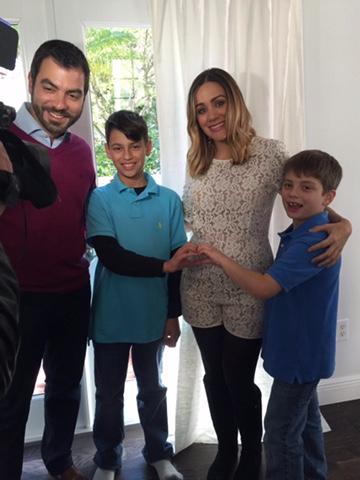 Nuestra compañera, Gloria Ordaz, anunció que espera a su primer hijo jun...