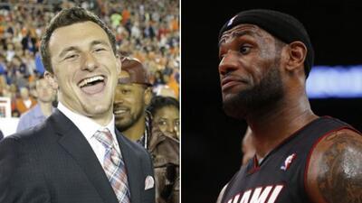 LeBron James quiere que su socio comercial Johnny Manziel termine en los...