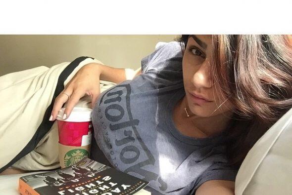 Mia también tiene un tatuaje en el brazo que ha despertado críticas.
