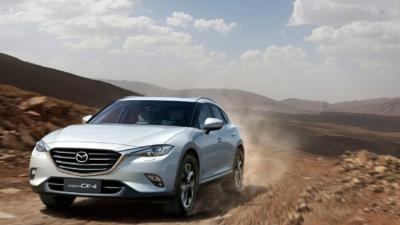 Esta es la nueva Mazda CX-4 2014