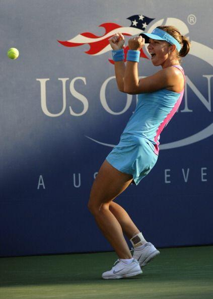 En el segundo día del US Open, la rumana Simona Halep dio la sorpresa al...
