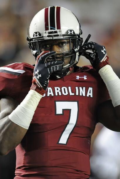 1. Jadeveon Clowney, DE, South Carolina (AP-NFL).