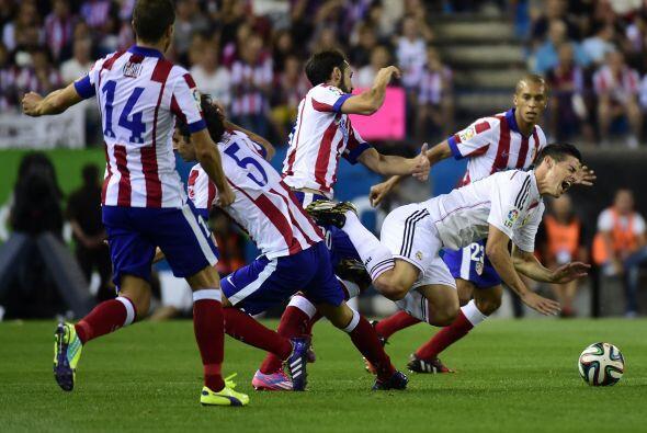 James Rodríguez tuvo un buen partido pero no fue suficiente.