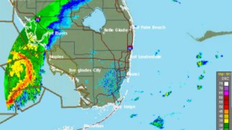 El Servicio Nacional de Meteorología emitió una alerta por posibles torn...