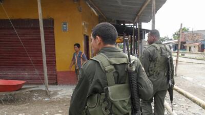 Agentes colombianos. (Imagen de Archivo).