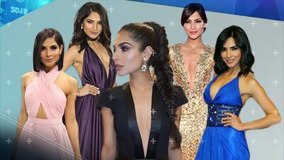Así ha brillado Alejandra Espinoza en la alfombra de Premio Lo Nuestro