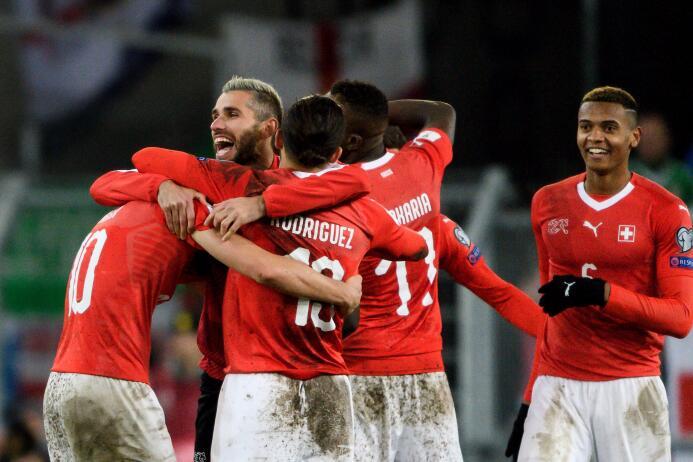 Suiza cuidó su ventaja ante Irlanda del Norte y logró el cupo a Rusia 20...