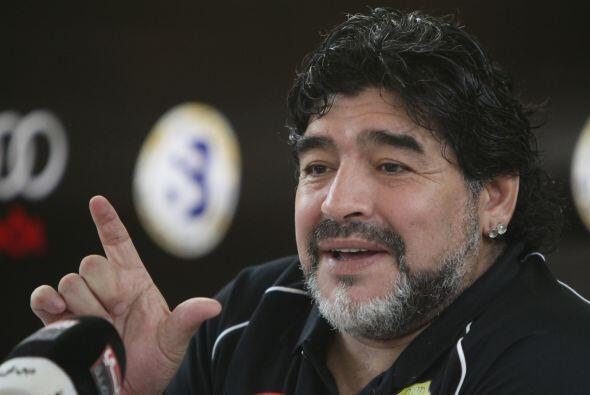 """Diego """"ha sido víctima de una especie de complot, de injusticia de la Ju..."""