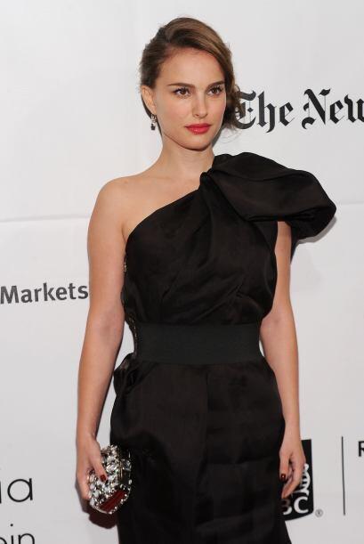 Sin duda una característica distintiva de Natalie Portman es su maquilla...