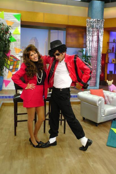 Michael Jackson Lozada no dejó de bailar y poner de buen humor a todos e...