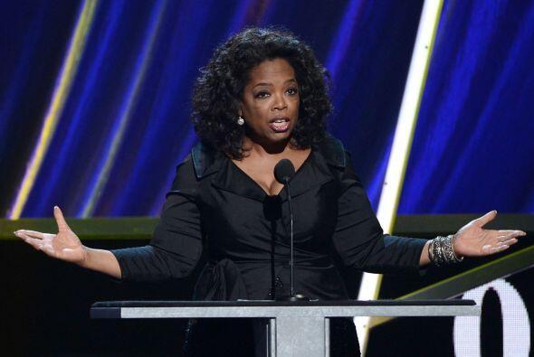 Un poco más abajo se encuentra Oprah Winfrey.