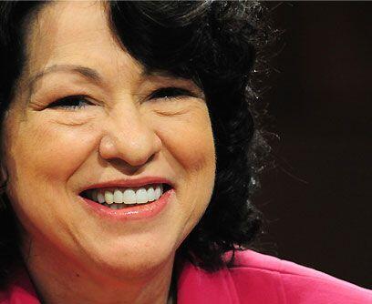 """Hasta sus detractores la conocían""""Sotomayor es una ultraliberal que va..."""