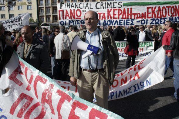 """""""Llevo 25 años en Grecia y he visto cómo la situación empeoraba. No hay..."""
