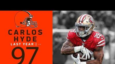 #97 Carlos Hyde (RB, Browns) | Top 100 Jugadores NFL 2018