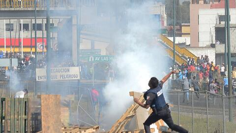 Enfrentamientos callejeros violentos en México por el gasolinazo