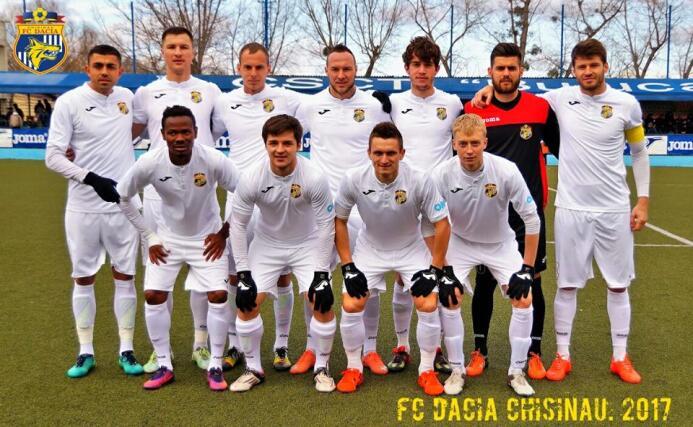 16. F.C. Dacia Chișinău (Moldavia)