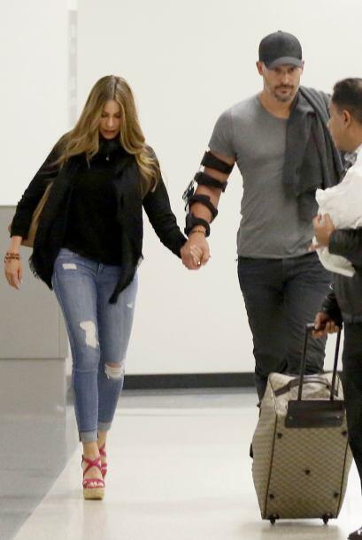 Miren nada más al futuro marido que se carga la Vergara.