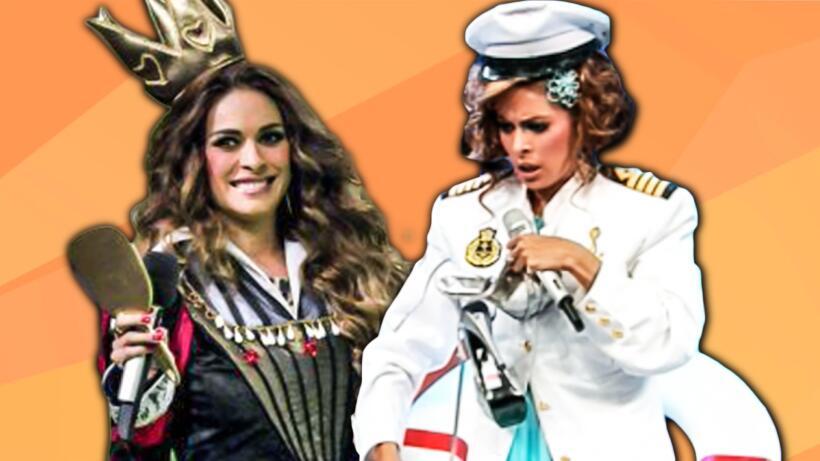 Desde reina hasta capitana del Titanic: Galilea lo ha hecho (casi) todo...