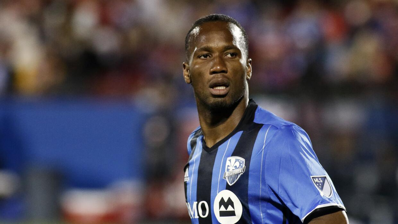 Didier Drogba ante FC Dallas.