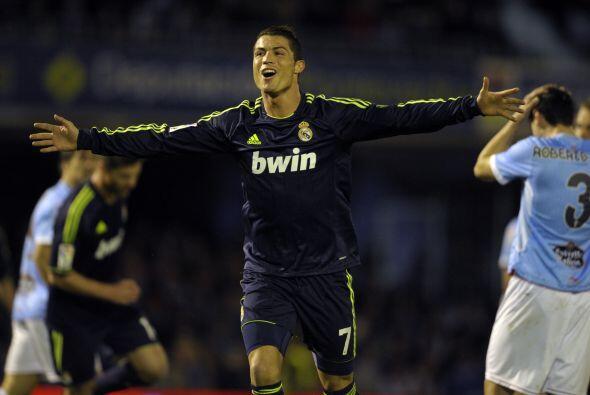 Pero ya para la segunda mitad el jugador del momento, Cristiano Ronaldo,...