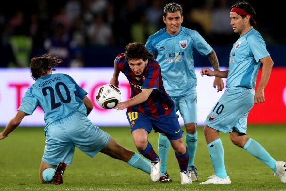 Pero a los Potros les tocó el Barcelona en semifinales y Messi, Pedro y...