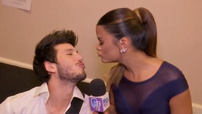 Sebastián Yatra le pide un beso a Clarissa Molina y ella nos deja boquiabiertos con su respuesta