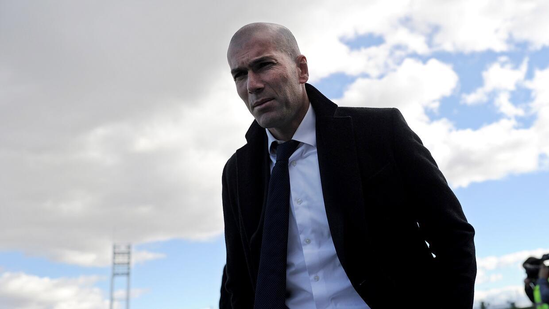 Zidane es técnico del Castilla