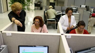 El desempleo en Estados Unidos subió una décima hasta el 6.2% en julio