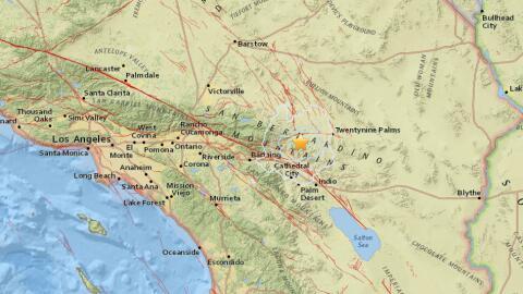 Un temblor de 3.6 se registró la mañana del jueves en el s...