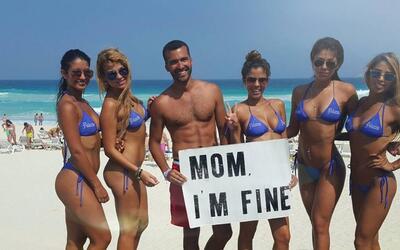 """""""Mamá estoy bien"""": El mensaje a su madre del joven mexicano que ha recor..."""