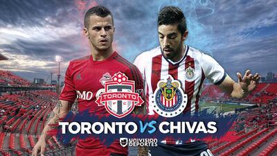 Primer round: Toronto recibe a Chivas por la ida de la final de la Liga de Campeones de Concacaf