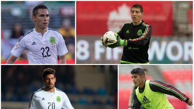 Los 'olvidados' de Osorio, 11 jugadores que no volvieron con el Tri