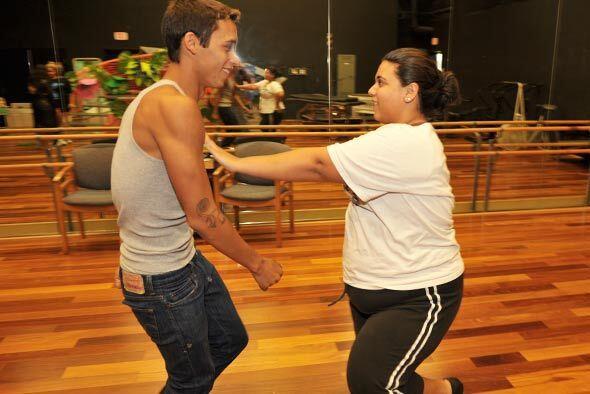Cada pareja pasa horas y horas en el salón de ensayos para que su baile...