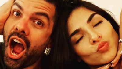 Alejandra Espinoza y Aníbal Marrero un amor bonito
